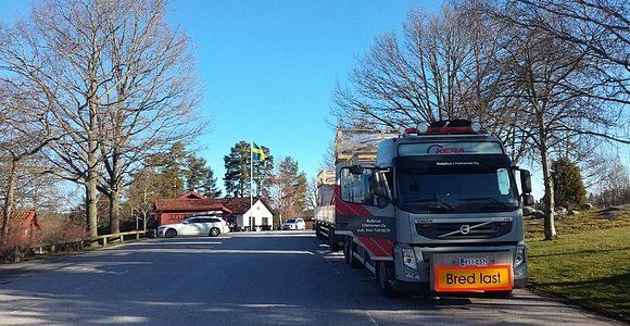 Leveä kuljetus Ruotsissa